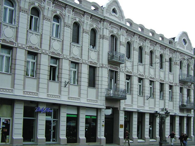 Зграда у којој се налази Позоришни музеј Војводине
